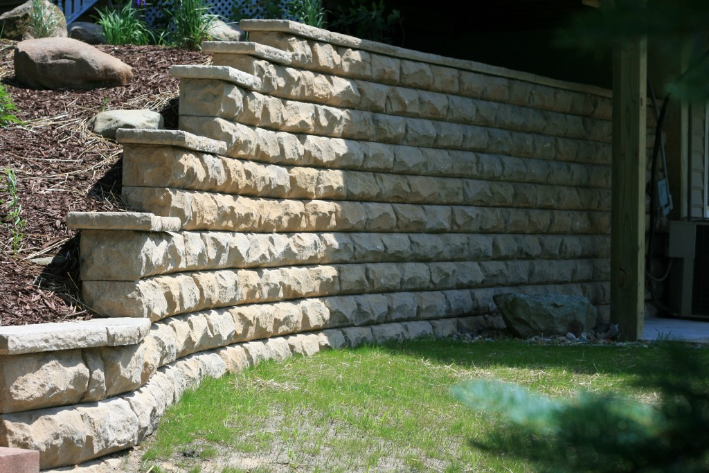 Rosetta Retaining Wall