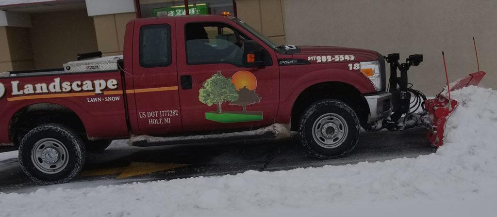 RD Landscape Plow Truck